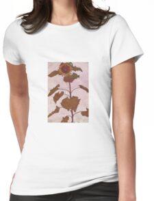 Egon Schiele - Sunflower 1909 Womens Fitted T-Shirt
