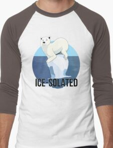 Ice-solated Men's Baseball ¾ T-Shirt