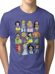 Princesses Tri-blend T-Shirt