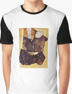 Egon Schiele - The Brother 1911 Graphic T-Shirt