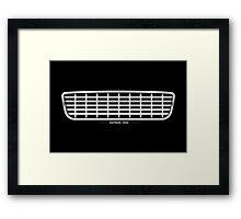 Datsun 1500 Grille - wall art Framed Print
