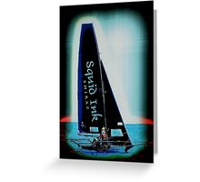 SKIFFS AUSTRALIA-SQUID INK Greeting Card