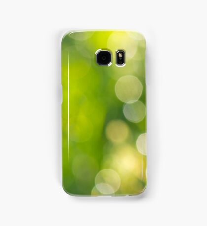 natural blur bokeh of foliage of tree crowns in the daytime Samsung Galaxy Case/Skin