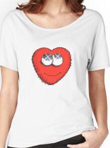 Cute Heart Women's Relaxed Fit T-Shirt