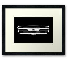 Datsun 2000 Grille - wall art Framed Print