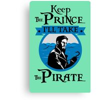I Need a Pirate. Captain Hook. Canvas Print