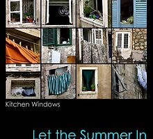 Kitchen Windows by Maria Ware