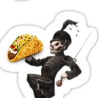 The Taco Bell Parade Sticker