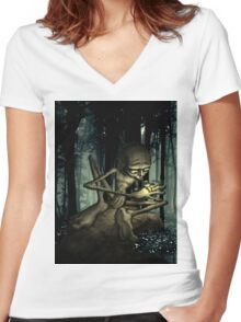 My precious... Women's Fitted V-Neck T-Shirt