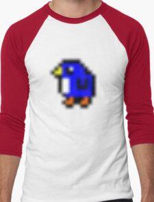 The Cute Pengii! :D Men's Baseball ¾ T-Shirt