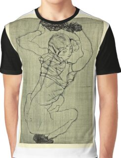 Egon Schiele -Kauernde Squatting Woman  Graphic T-Shirt
