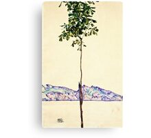 Egon Schiele -Little Tree  Canvas Print