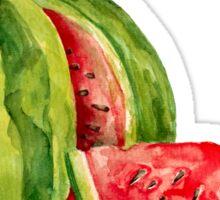 Watercolor watermelon Sticker