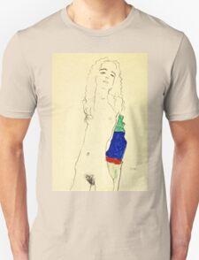 Egon Schiele -Standing Female Nude  Unisex T-Shirt