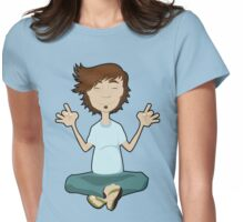 Totally Zen Womens Fitted T-Shirt