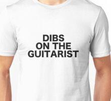 Dibs On The Guitarist Guitar Show Gig Festival Concert Unisex T-Shirt
