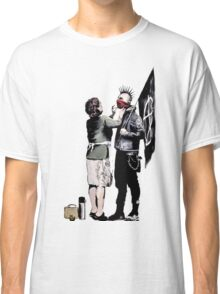 Banksy - Anarchist And Mother Classic T-Shirt