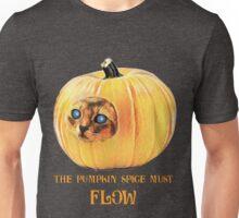 The Pumpkin Spice must flow - no border/transparent Unisex T-Shirt