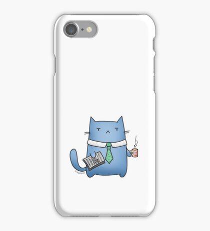 Office Cat iPhone Case/Skin
