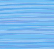 Blue? horizon / Blue? vertical Sticker