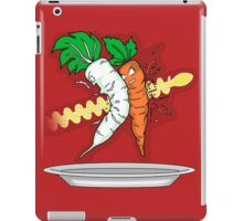 The Death Of Radish and Carot iPad Case/Skin