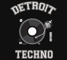Detroit Techno One Piece - Short Sleeve