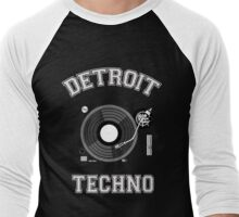 Detroit Techno Men's Baseball ¾ T-Shirt