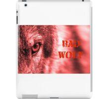 Bad Wolf legions iPad Case/Skin