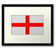 English Flag Framed Print