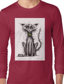 I love my smelly cat Long Sleeve T-Shirt