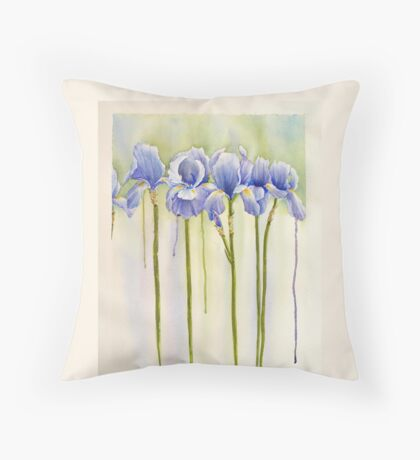 All Pretty Maids in a Row Throw Pillow