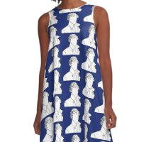 Sherlock Silhouette - Blue A-Line Dress