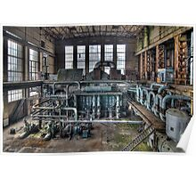 An abandoned powerplant Poster
