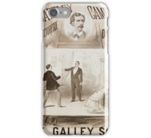 Performing Arts Posters The galley slave Bartley Campbells picturesqe sic drama 0625 iPhone Case/Skin