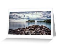 Sunrise on Split Rock Beach Greeting Card