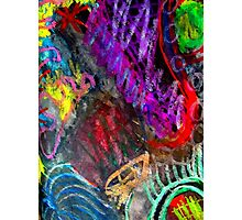 Chaos Colorized Photographic Print