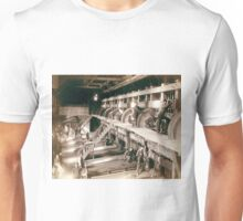 Clean Up day at the Deadwood Terra Gold Stamp Mill - John Grabill - 1888 Unisex T-Shirt