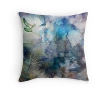 Can't Find My Way Home (image, poem & music) Throw Pillow