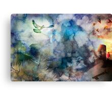 Can't Find My Way Home (image, poem & music) Canvas Print