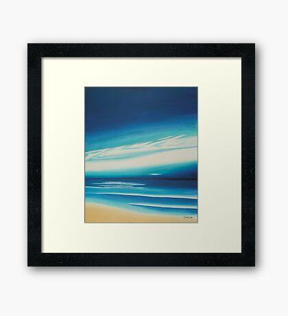 Blue Sky. Framed Print