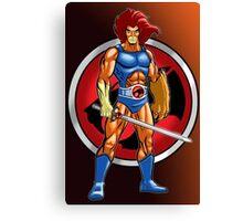 Super Lion Sword Canvas Print