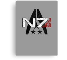 N7 Systems Alliance Canvas Print