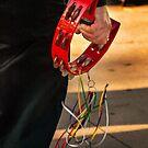 The red tambourine by Celeste Mookherjee