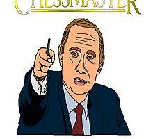 Chessmaster Putin by Dyan Bermeo