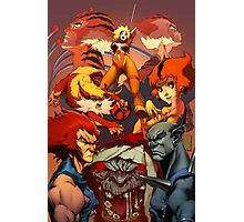 Fire Thundercats Photographic Print