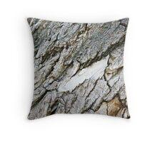 Bark Texture Throw Pillow