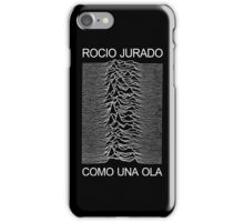COMO UNA OLA iPhone Case/Skin
