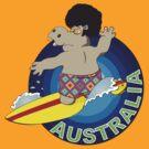 Surfing Australia by FredzArt