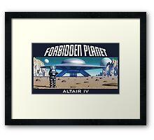 Forbidden Planet Altair IV Framed Print