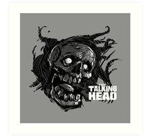 The Talking Dead Art Print